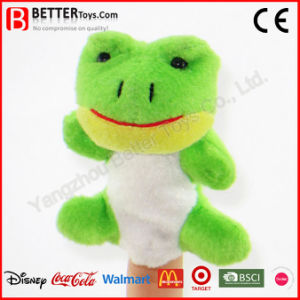 Stuffed Animal Frog Finger Puppet for Baby Kid Children pictures & photos