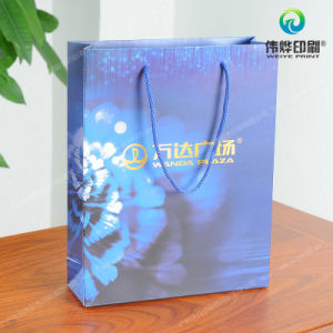 Matte Coated Paper Packaging Printing Promotional Gift Bag pictures & photos