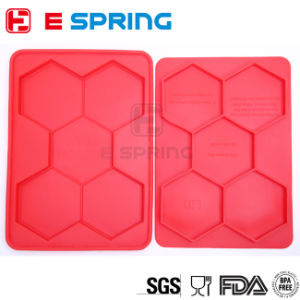Hexagon Silicone Burger Press Cooking Utensil Freezer Container pictures & photos