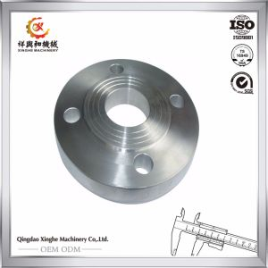 SUS 304 Stainless Steel Machined Pipe Flange pictures & photos