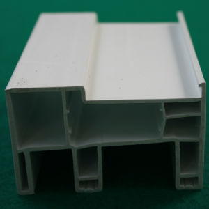 High Output 80mm Sliding Series Blue White PVC Profile