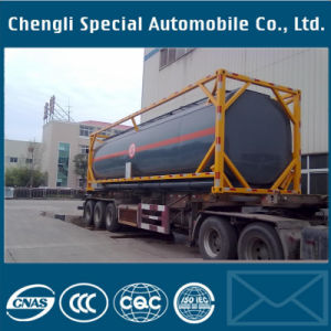 40FT Container 40000liter Chemical Container Tank Trailer pictures & photos