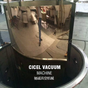 Stainless Steel Big Size PVD Vacuum Coating Machine for Colored Stainless Steel Sheet pictures & photos