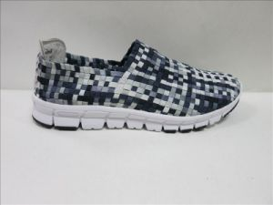 Colorful Woven Shoes for Men pictures & photos
