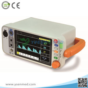 Yspm200 Medical Hospital Equipment Cheap Digital Portable ECG Vital Sign Monitor pictures & photos