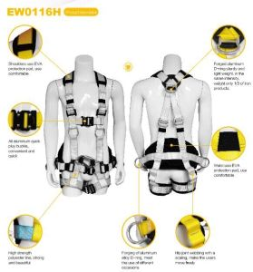 Safety Belt with Waist Belt and EVA Block (EW0116H) -Set4 pictures & photos