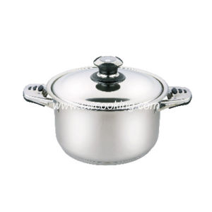 Stainless Steel Stock Pot with Combined Handle pictures & photos