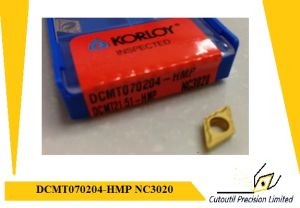 Korloy Dcmt070204-Hmp Nc3020 Turning Insert for Steel Carbide Insert pictures & photos