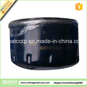 High Quality Auto Oil Filter for Renault 8200033408