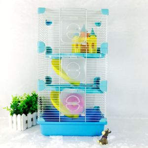Colorful Ancient Castle Luxury Hamster Cage Medium Hamster Cage Castle Hamster Cage Wire Cover Hamster Cage pictures & photos