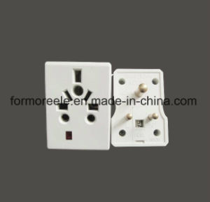 South Africa 10A 250V 3pins Travel Plug Adaptor pictures & photos