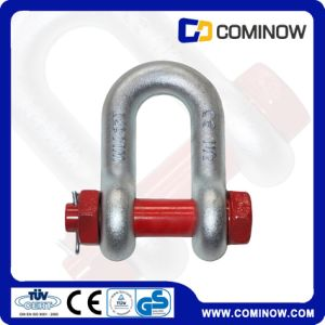 Us Type Drop Forged Hot DIP Galvanized D Shackle  for Lifting (G2150) pictures & photos