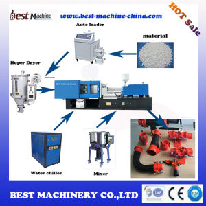 Best Series Plastic Pipe Fitting Injection Molding Making Machine for Water Irrigation pictures & photos