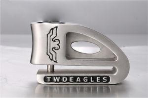 Two Eagles Anti-Force Opening Lock Alarm Monitoring Disc Brake Lock pictures & photos
