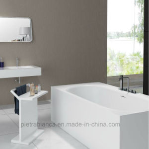 Glossy Finished Modern Solid Surface Hot Bathtub (PB1018G) pictures & photos