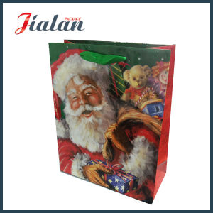 Matte Laminated Custom Logo Design Cheap Paper Promotion Christmas Bag pictures & photos