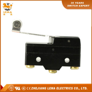 Lema Hinge Plastic Roller Lever Micro Switch Lz15-Gw2-B pictures & photos