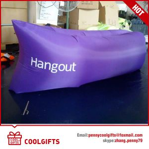 2016 Fashion Inflatable Single Layer TPU Lazy Air Hangout Sleeping Sofa pictures & photos