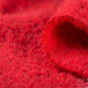 Wool /Polyester Fabric in Red Colour pictures & photos