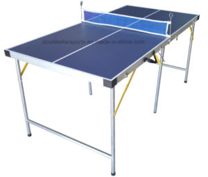 Midsize Folding Ping Pong Table pictures & photos