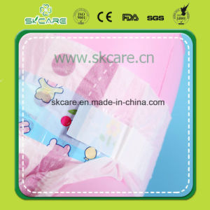 Cheapest Girl Design Baby Diapers with Cloth Like Film pictures & photos