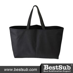 Canvas Tote Bag (Big, Black) (HBD08C) pictures & photos