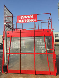Double Cage Building Hoist pictures & photos