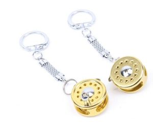 Whosale Beautiful Precise Fly Reel Key Chain pictures & photos