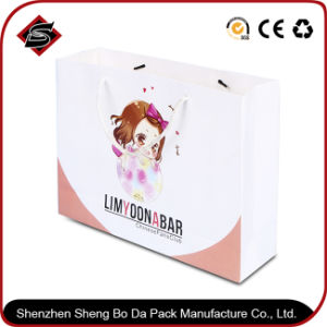 Portable Customzied Logo Printing Paper Gift Shopping Packaging Bag pictures & photos