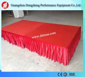 High Quality Event Aluminum Adjustable Assemble Stage with Different Height pictures & photos