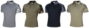 New 5 Colors Tactical Military Short Sleeves Combat Frog T-Shirts pictures & photos
