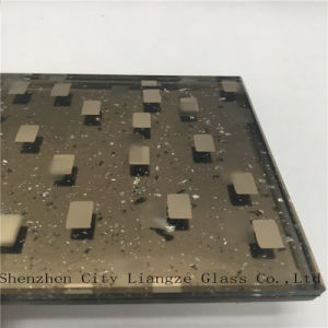 6mm+Silver Foil+5mm Craft Glass/Art Glass/ Laminated Glass for Decoration pictures & photos