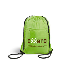 Outdoor Polyester Sports Drawstring Bag pictures & photos