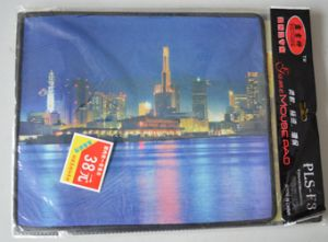 Natural Rubber Mouse Pad with Beautiful Scenery Design pictures & photos