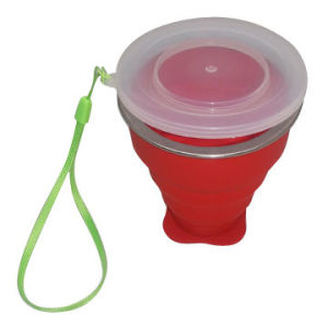 Promotional Silicone Collapsible Water Cup pictures & photos