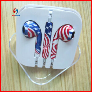 Wholesale Price Headset for iPhone 5s Earphone with Mic and Volume pictures & photos