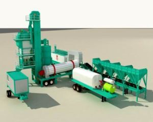 Batch Mobile Asphalt Plant (QLB-Y1000)