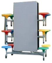 Mobile Folding Dining Table (SH-020)
