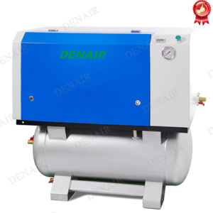 Industrial Silent Scroll Oil-Free Screw Air Compressor for Food pictures & photos