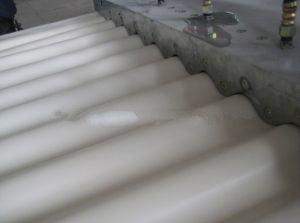 PVC Corrugated Wave Sheet Extrusion Production Line (SJ80) pictures & photos