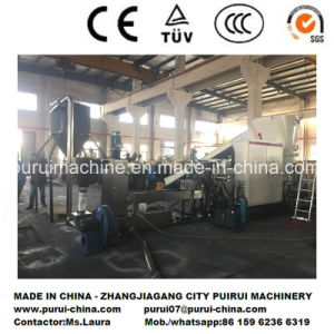 Plastic Recycling Pelletizing Machine for Washed HDPE LDPE Film pictures & photos