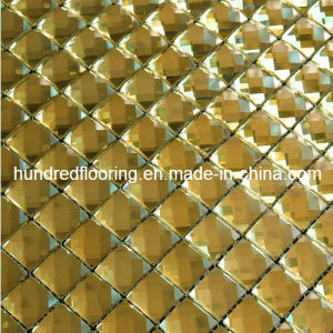 Yellow Mirror Mosaic Tile Diamond Mosaic (HD037) pictures & photos