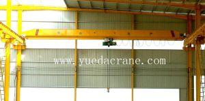Single Girder Bridge Crane with Electric Hoist (LDA)
