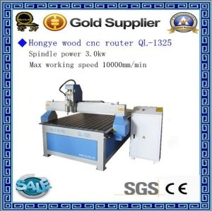 CNC Machine Ql-1325 for Cutting MDF Wood PVC Bamboo pictures & photos