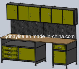 Wall Orgnization Tool Storage Garage Cabinet Workbench pictures & photos