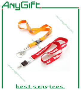 Polyester Lanyard with Customized Logo and Size pictures & photos