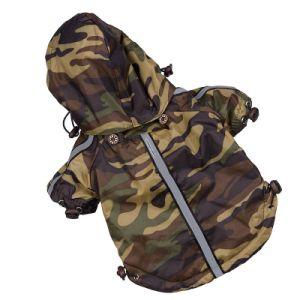 Camouflag Dog Raincoat Reflective Pet Clothes pictures & photos