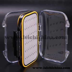 Wholsale Waterproof Plastic Super Large Fly Fihsing Box Wiht Silm Foam pictures & photos