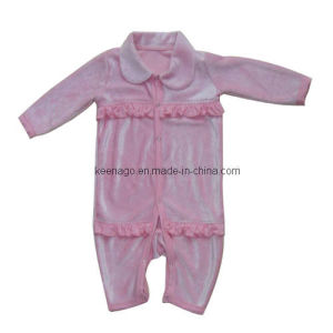 Velour Infant Coverall pictures & photos