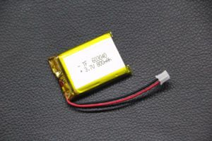 . 7V 800mAh 603040 Lithium Polymer Li-Po Rechargeable Battery for MP4 MP5 GPS Pad DIY PSP Mobile Pocket PC E-Books Video Game pictures & photos